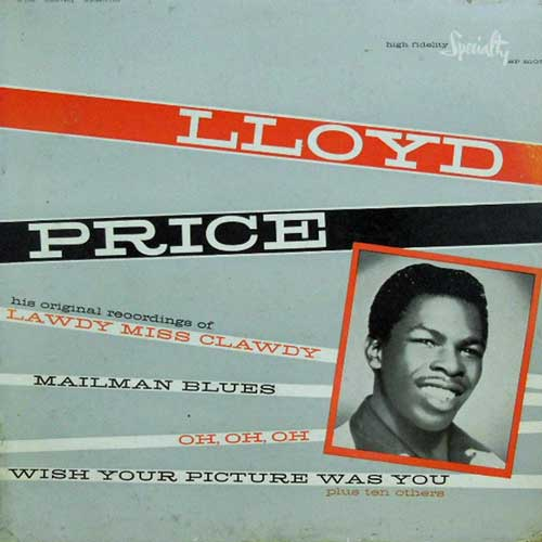 LLOYD PRICE - Lloyd Price - LP