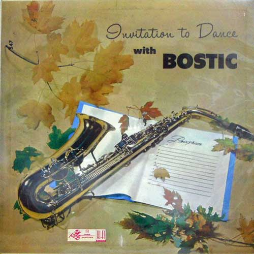 EARL BOSTIC - An Invitation To DAnce From - LP