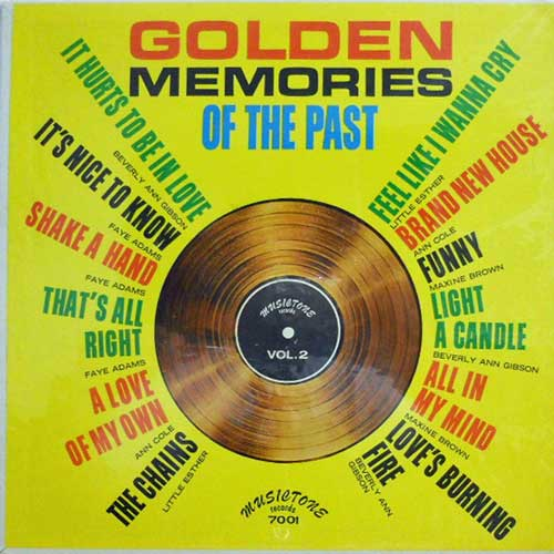 BEVERLY ANN GIBSON FAYE ADAMS LITTLE ESTHER ETC. - Golden Memories Of The Past Vol.II - LP