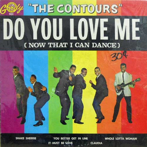 CONTOURS - Do You Love Me - LP
