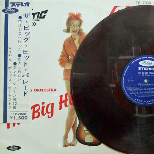 ROYAL POPS ORCHESTRA - The Big Hit Parade - LP