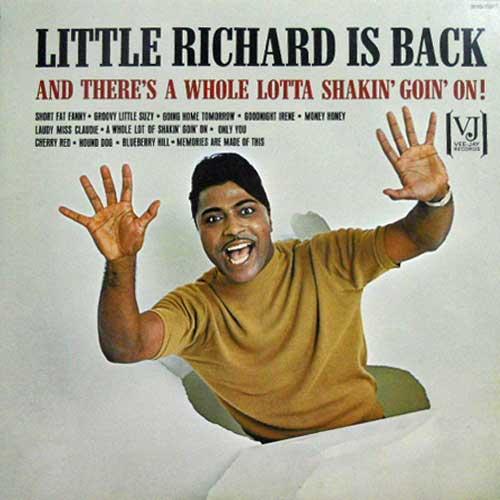 LITTLE RICHARD - Little Richard Is Back - LP