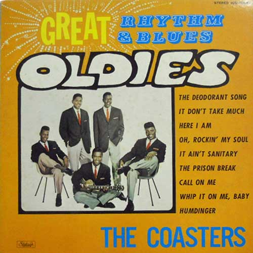 COASTERS - Great Rhythm & Blues Oldies - LP