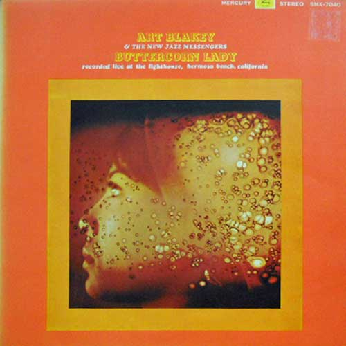 ART BLAKEY & THE NEW MESSENGERS - Buttercorn Lady - 33T