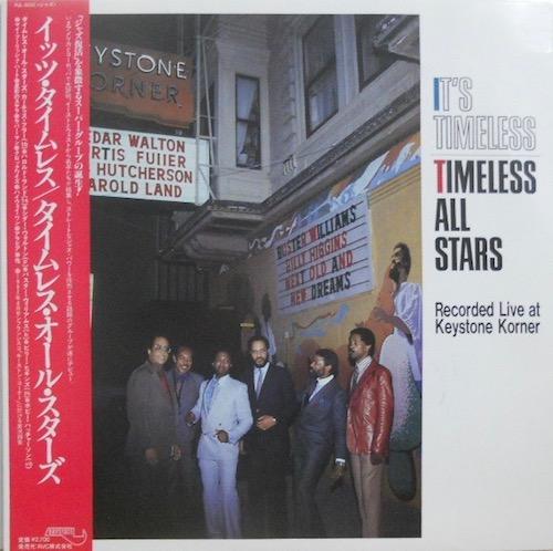 TIMELESS ALL STARS - It's Timeless: Recorded Live At Keystone Korner - 33T