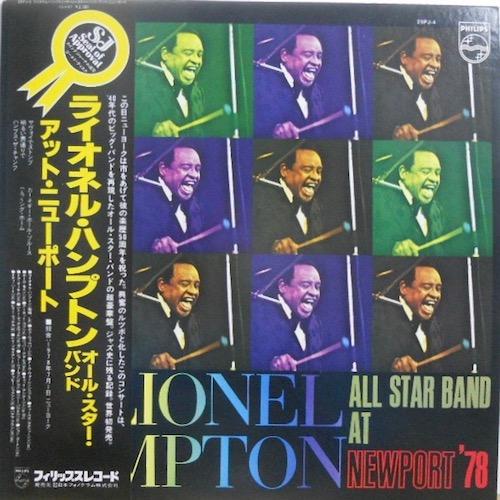 LIONEL HAMPTON - All Stra Band At Newport '78 - 33T