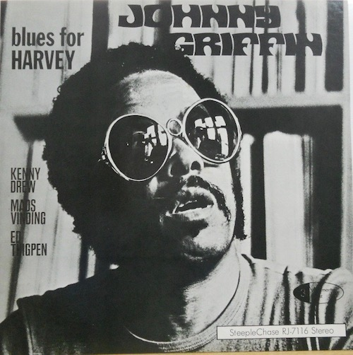 JOHNNY GRIFFIN - Blues For Harvey - 33T