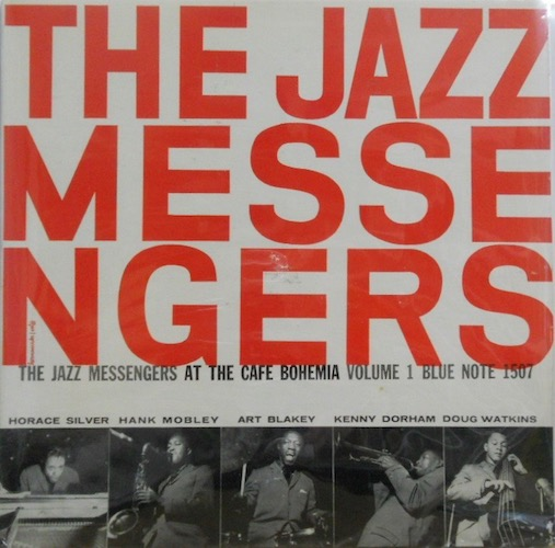 ART BLAKEY & THE JAZZ MESSENGERS - At The Cafe Bohemia Vol. 1 - 33T