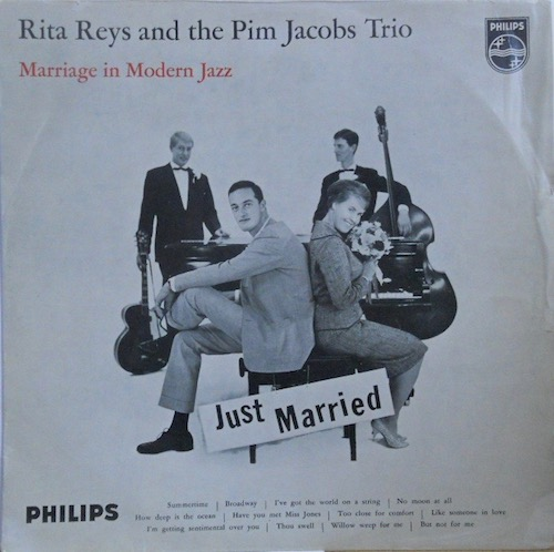 RITA REYS & PIM JACOBS TRIO - Marriage In Modern Jazz - 33T