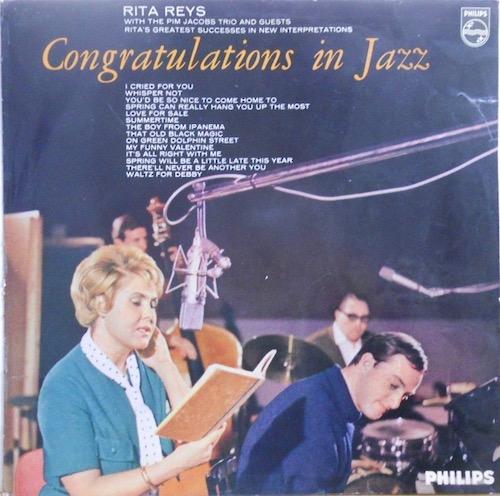 RITA REYS & PIM JACOBS TRIO - Congratulations In Jazz - 33T