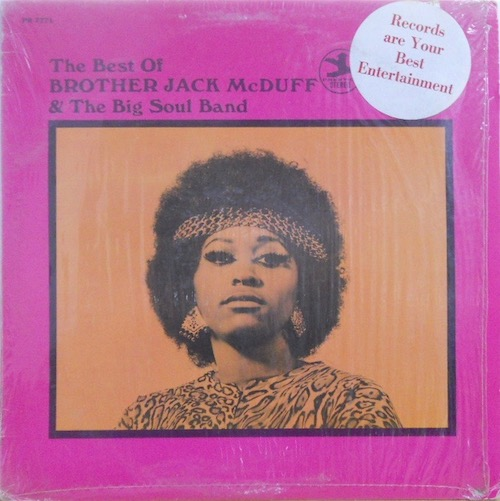BROTHER JACK MCDUFF & THE BIG SOUL BAND - The Best Of - LP