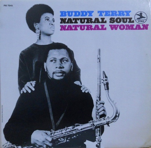 BUDDY TERRY - Natural Soul - LP