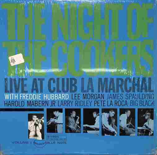 FREDDIE HUBBARD - The Night Of The Cookers Vol. 1 - 33T