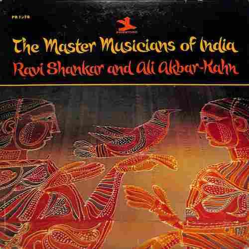 RAVI SHANKAR - The Master Musician Of India - LP