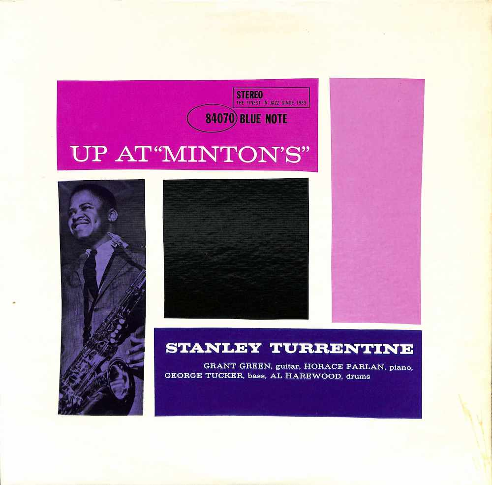 STANLEY TURRENTINE - Up At Minton's Vol. 2 - 33T