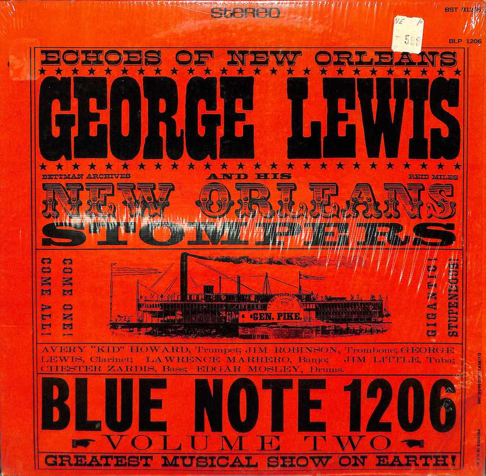 GEORGE LEWIS - And His New Orleans Stopmers Vol. 2 - 33T