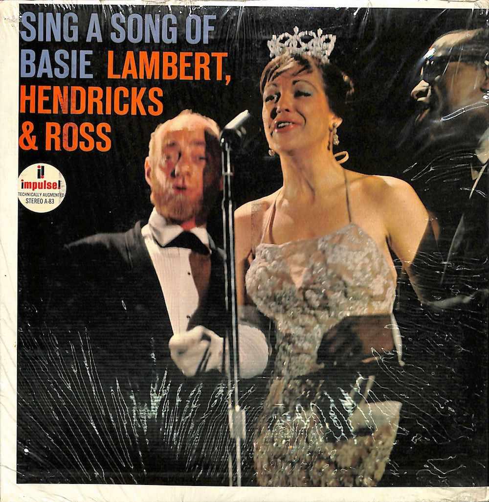 LAMBERT HENDRICKS & ROSS - Sing A Song Of Basie - 45T x 1