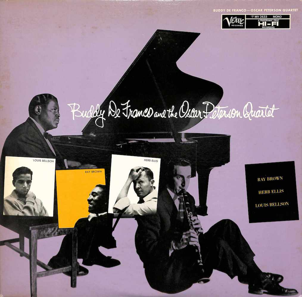 BUDDY DE FRANCO - And The Oscar Peterson Quartet - 33T