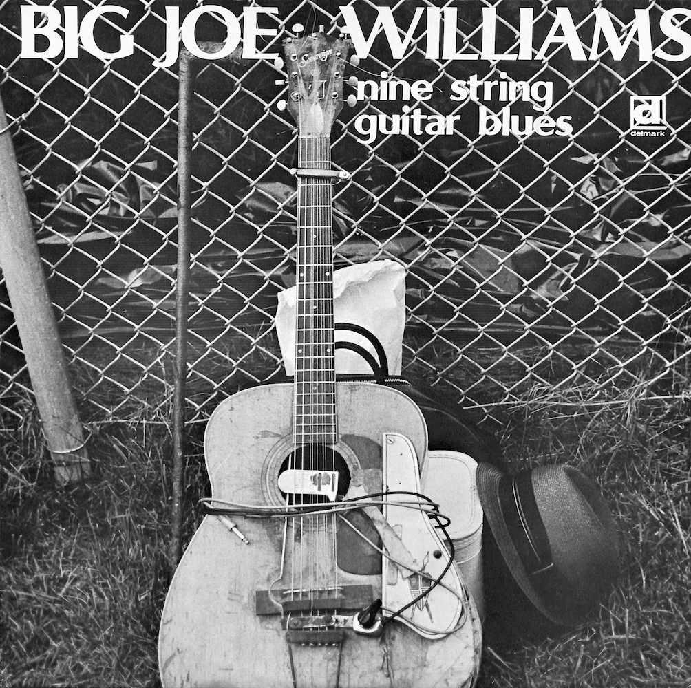 BIG JOE WILLIAMS - Nine String Guitar Blues - LP