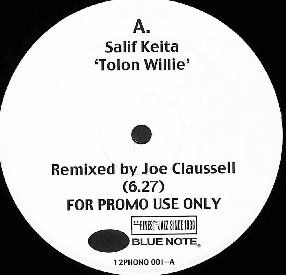 SALIF KEITA / CASSANDRA WILSON - Tolon Willie / Voodoo Reprise (Joe Claussell Remixes) - Maxi x 1
