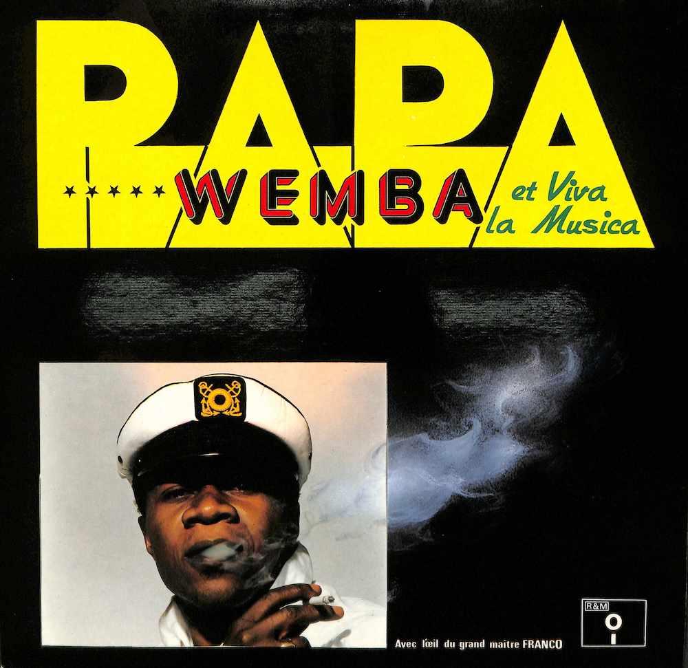 PAPA WEMBA - Avec L'oeil Du Grand Maitre Franco - LP