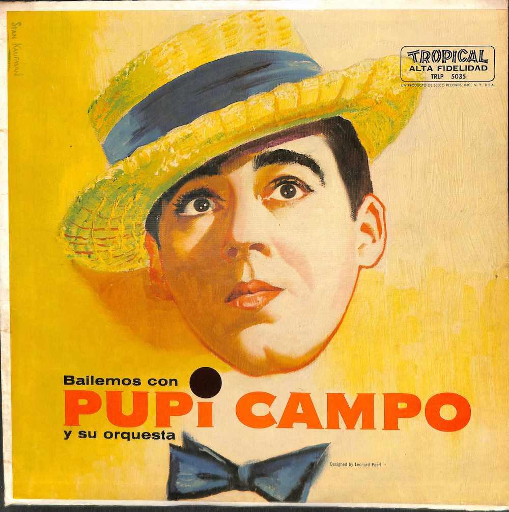 PUPI CAMPO Y SU ORQUESTA - Bailemos Con - LP