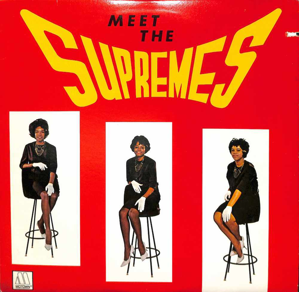 SUPREMES - Meet The Supremes - LP