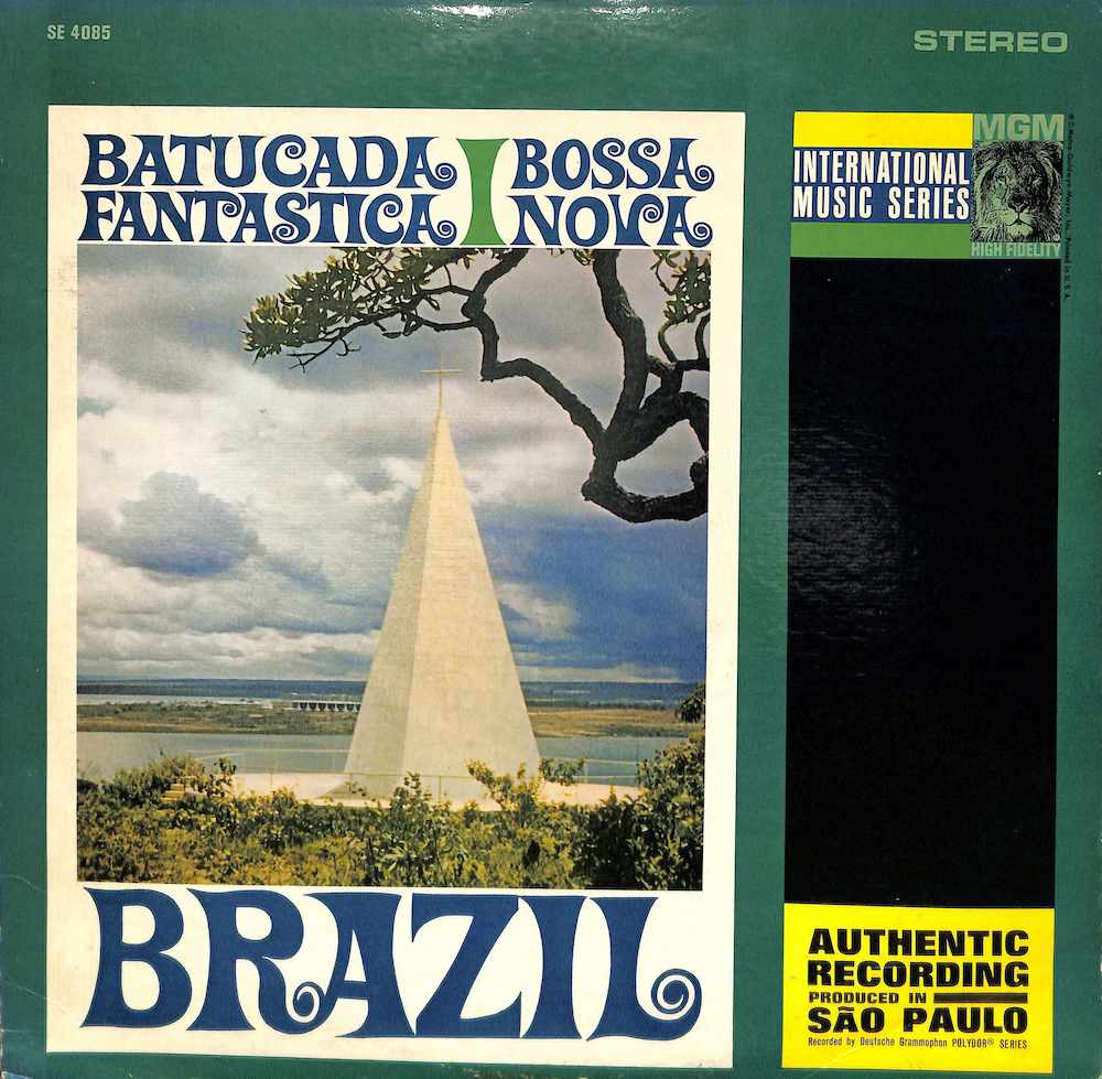 OS RITMISTAS BRASILEIROS ORCHESTRA - Batucada Fantastica Bossa Nova - LP