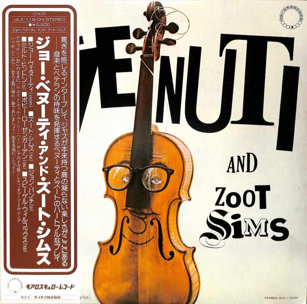 JOE VENUTI & ZOOT SIMS - Joe & Zoot - LP