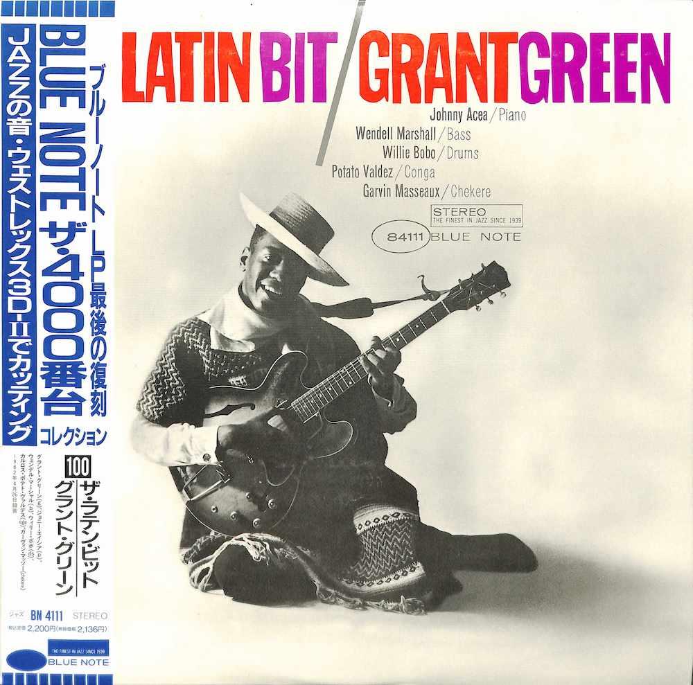 GRANT GREEN - The Latin Bit - 33T