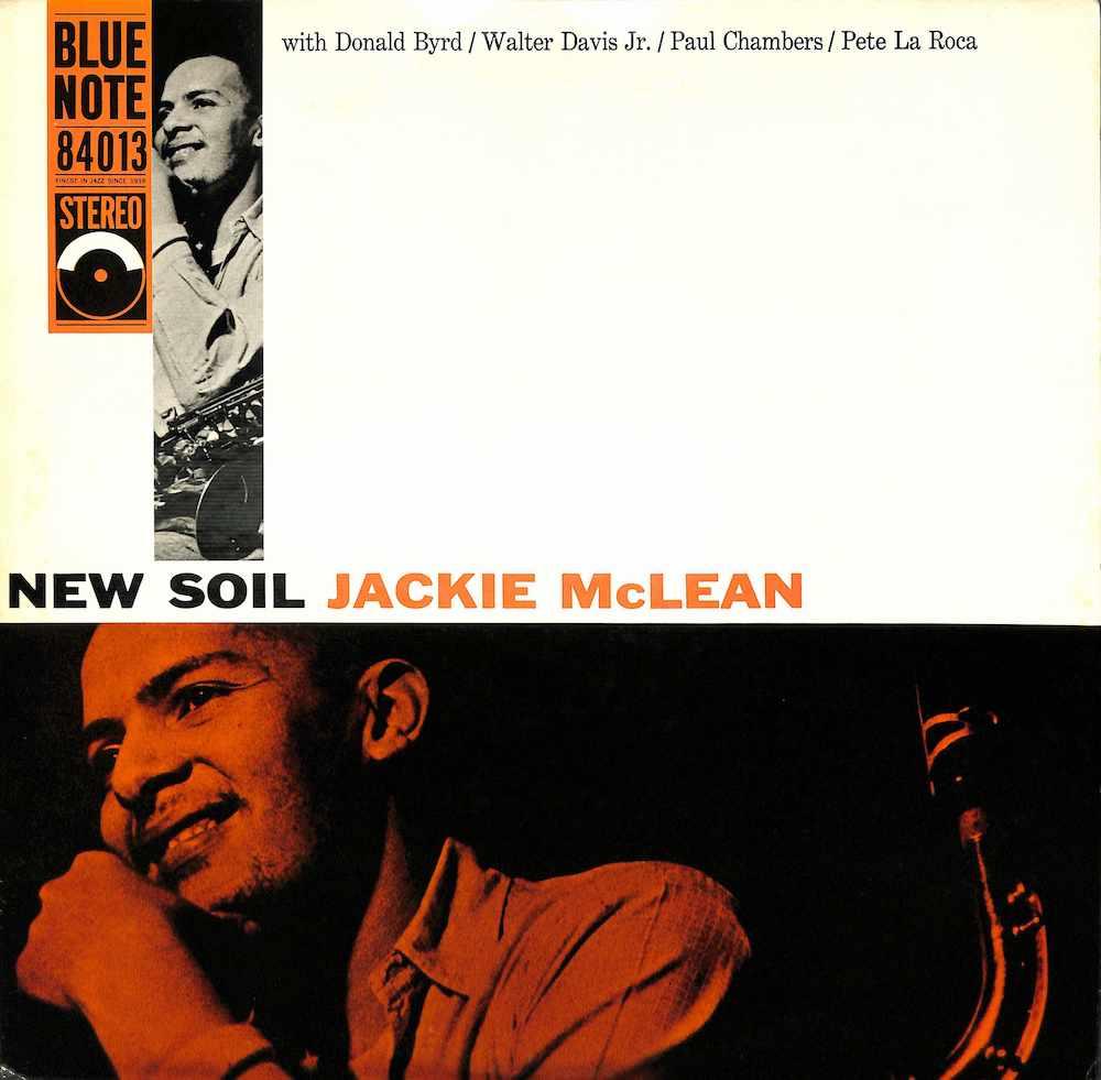 JACKIE MCLEAN - New Soil - 33T