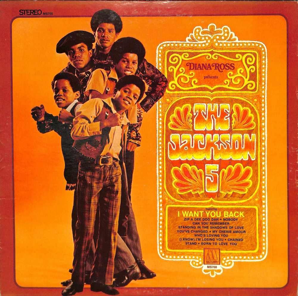 JACKSON FIVE: 5 - Diana Ross Presents The Jackson Five: 5 - 33T