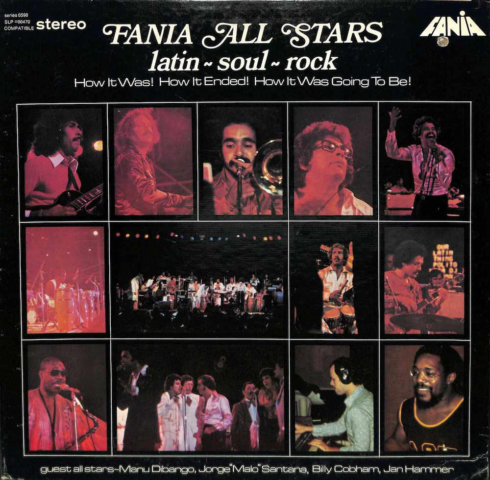 FANIA ALL STARS - Latin Soul Rock - LP