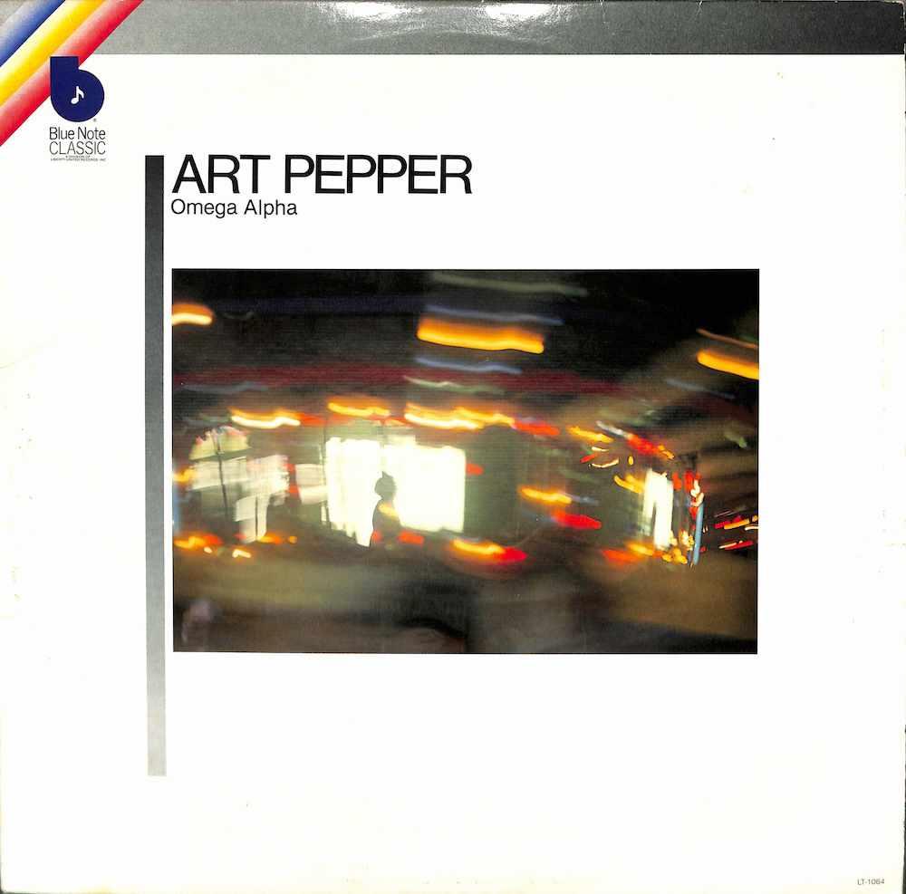 ART PEPPER - Omega Alpha - 33T