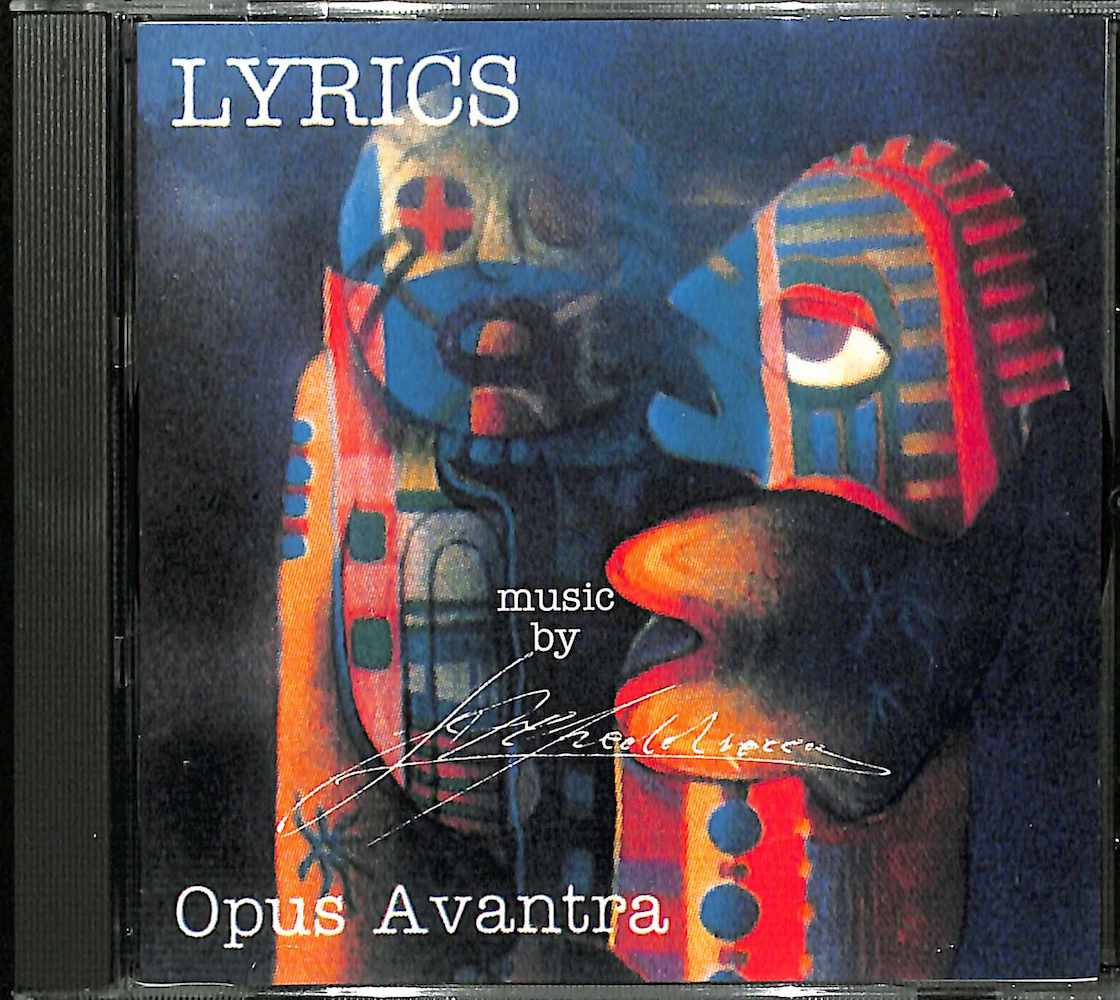 OPUS AVANTURA - Lyrics - CD