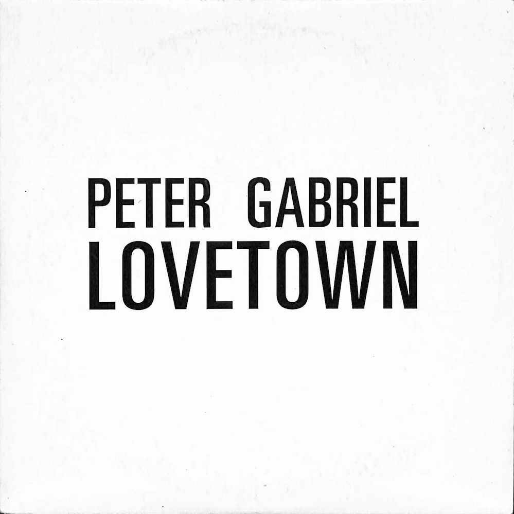 PETER GABRIEL - Lovetown - CD single