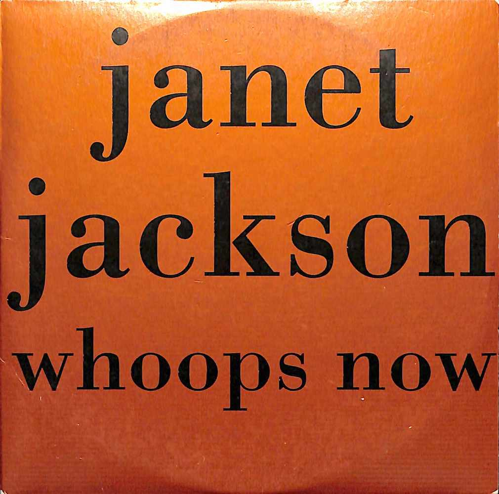 JANET JACKSON - Whoops Now - CD single