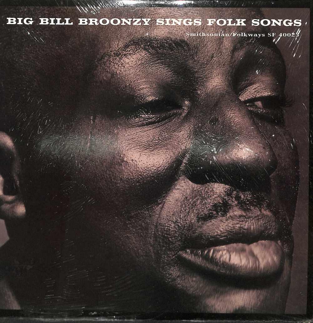 BIG BILL BROONZY - Sings Folk Songs - LP