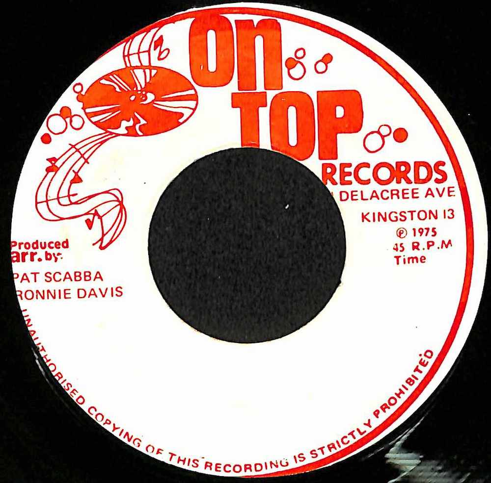 RONNIE DAVIS - On And On  /Version - 7inch x 1