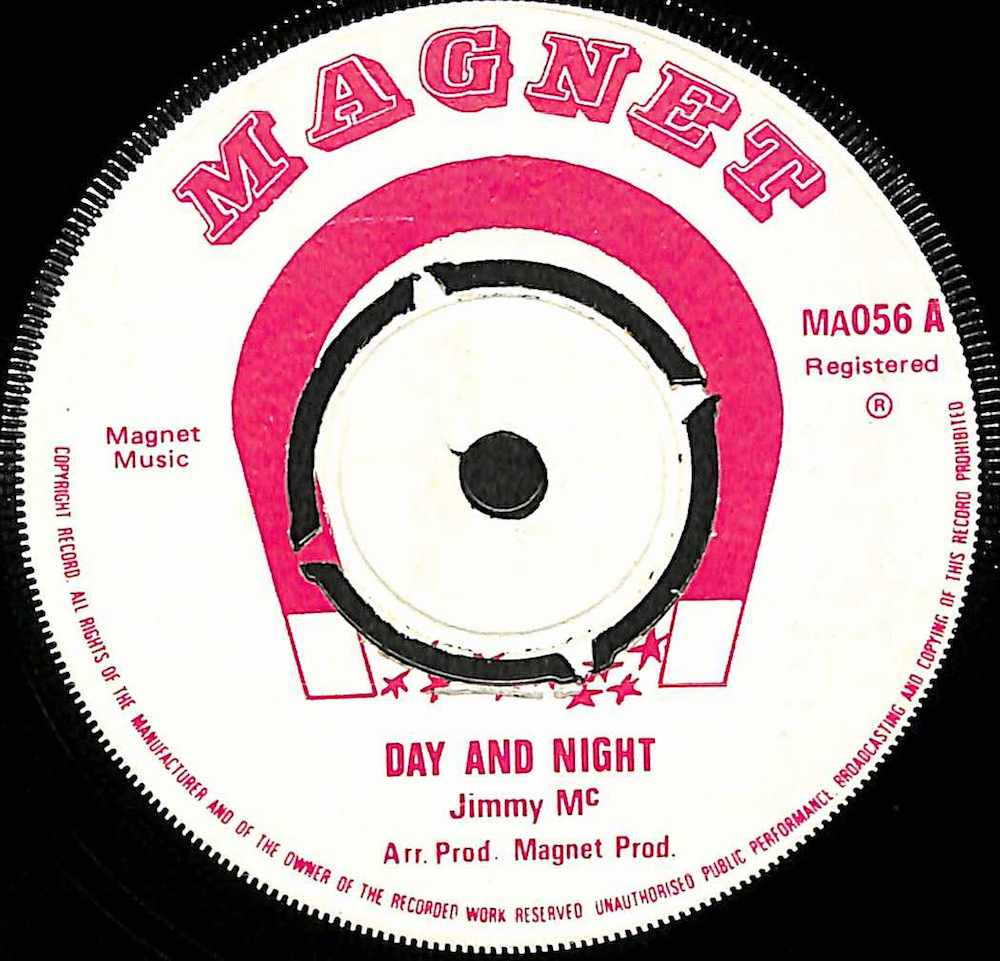 JIMMY MC / HEPTONES - Day And Night / Crackling Rosie - 7inch x 1