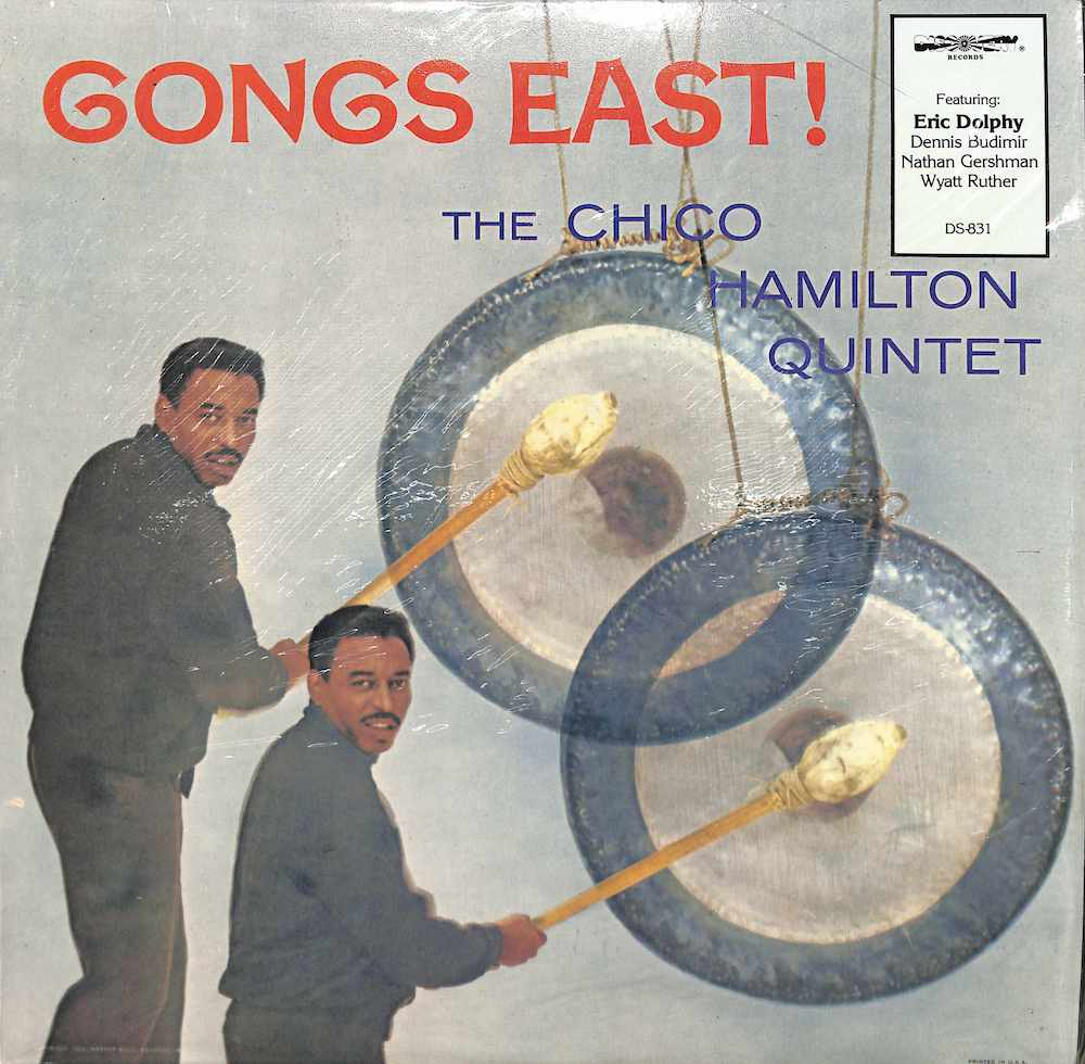 CHICO HAMILTON QUINTET - Gongs East - LP