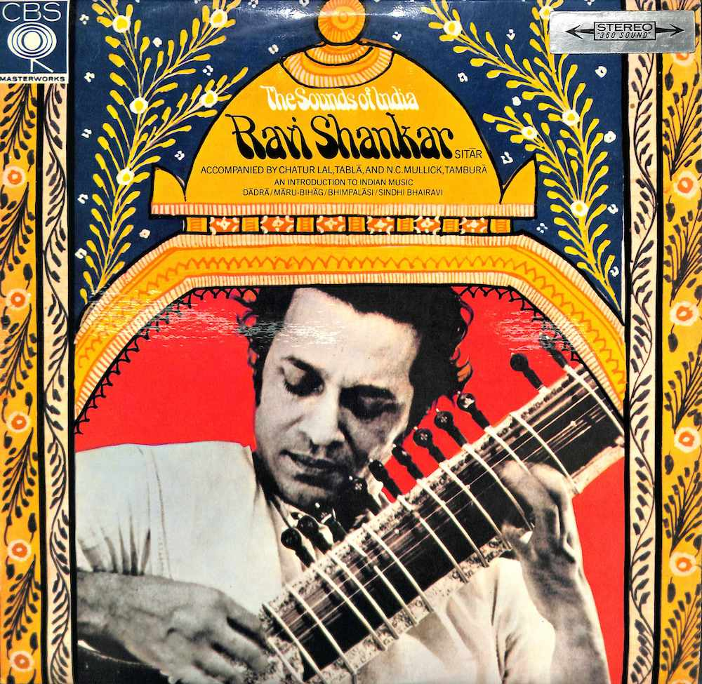 RAVI SHANKAR - The Sound Of India - LP