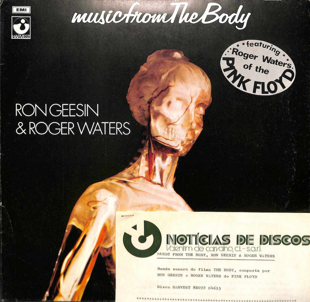 RON GEESIN / ROGER WATERS - Music From The Body - LP