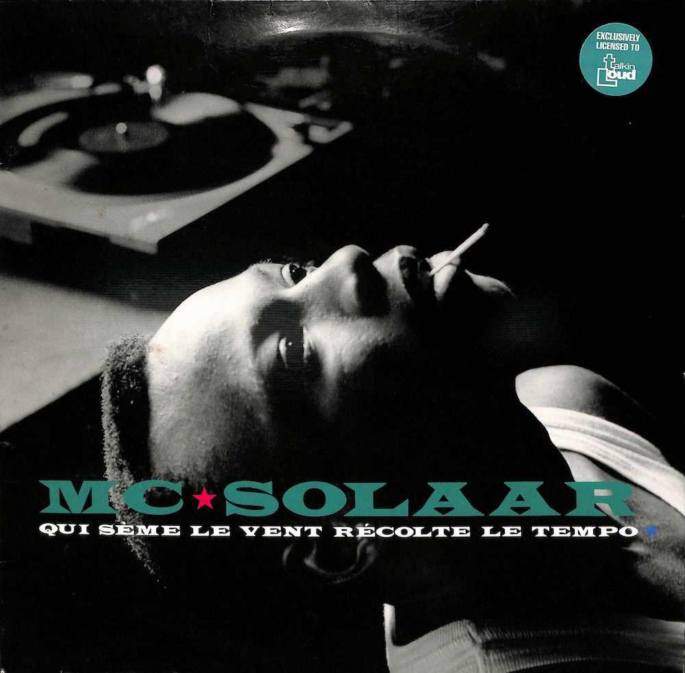 MC SOLAAR - Qui Seme Le Vent Recolte Le Tempo - 33T