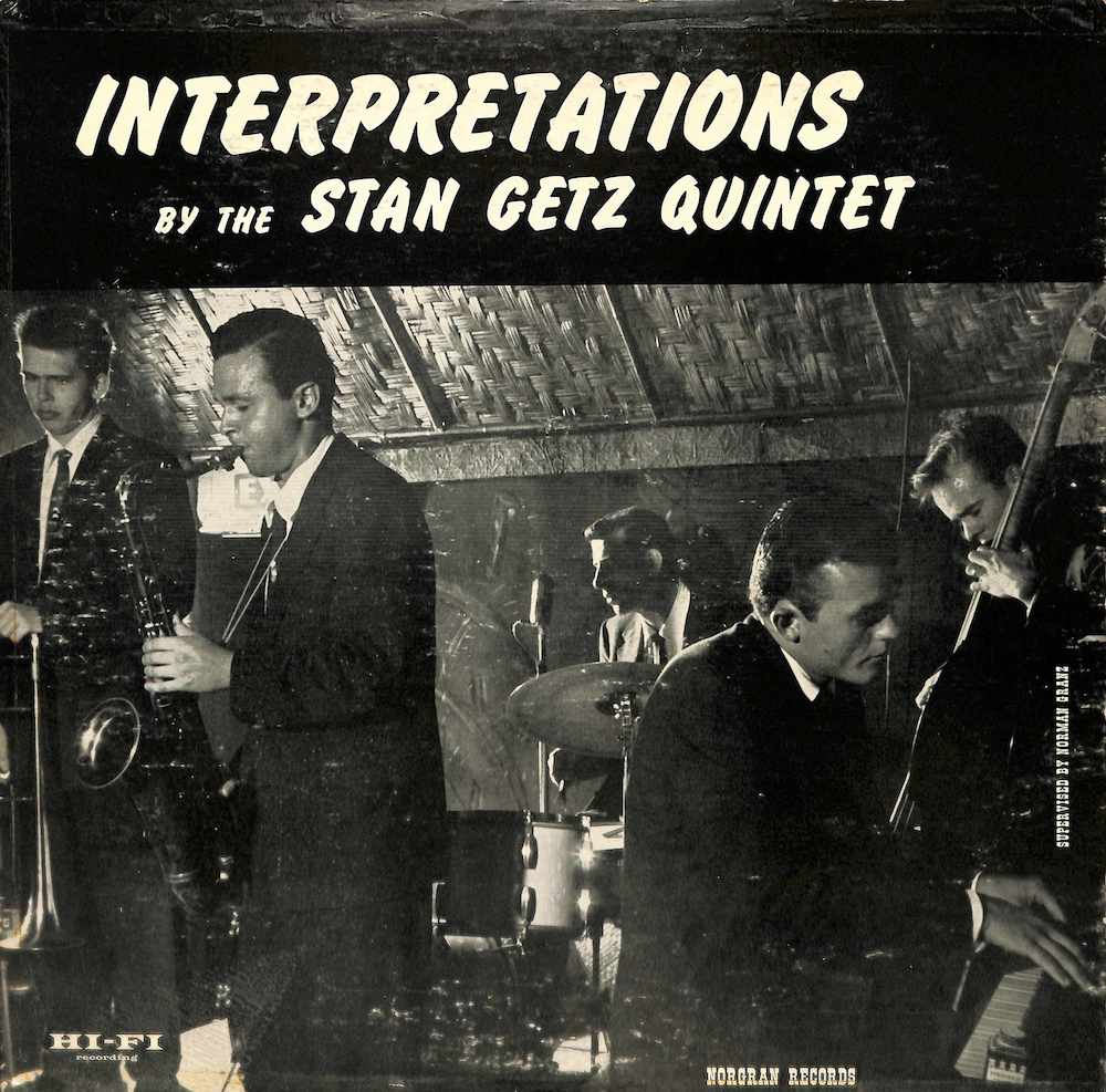 STAN GETZ QUARTET - Interpretations - 33T