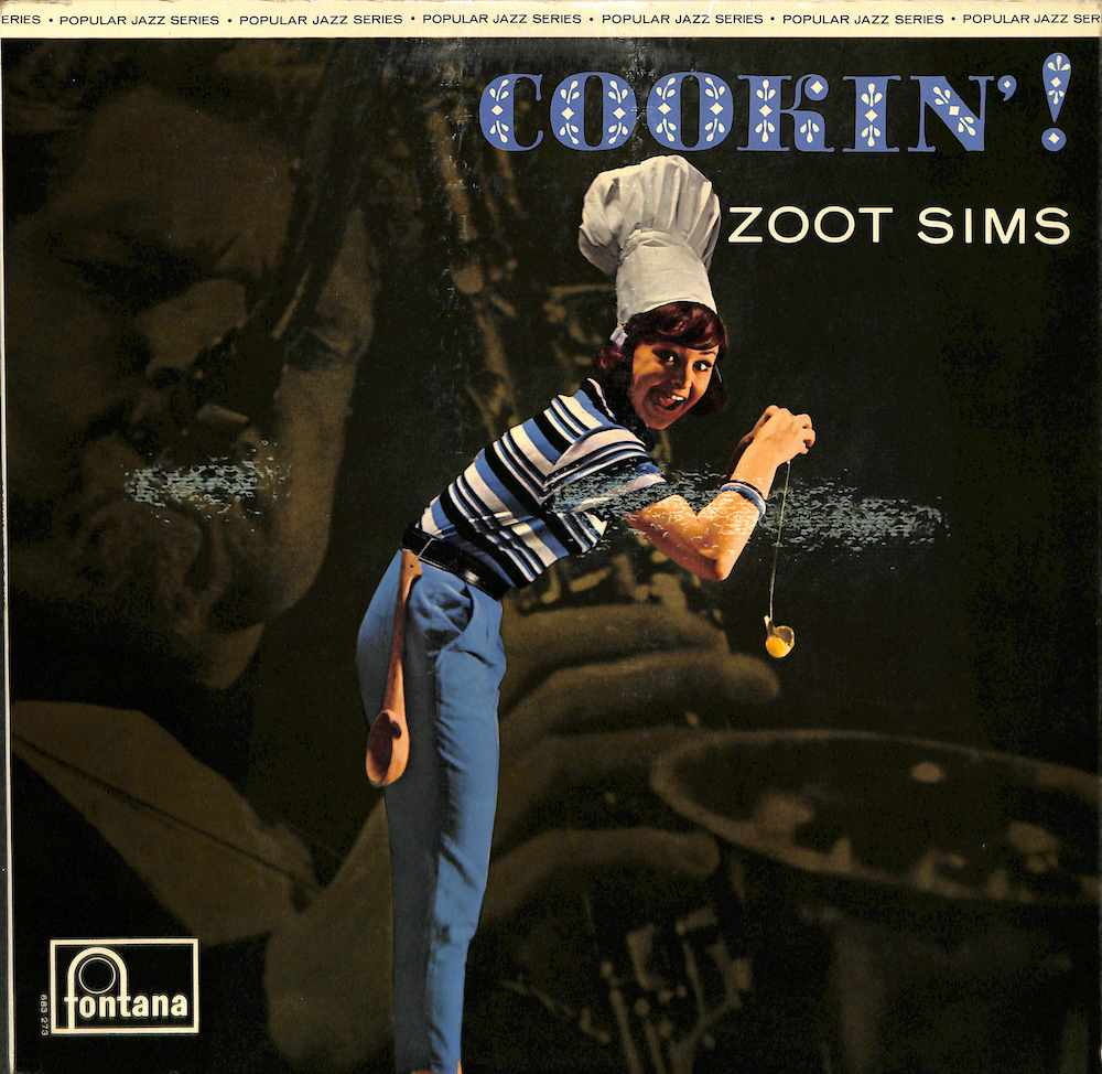 ZOOT SIMS - Cookin' - LP