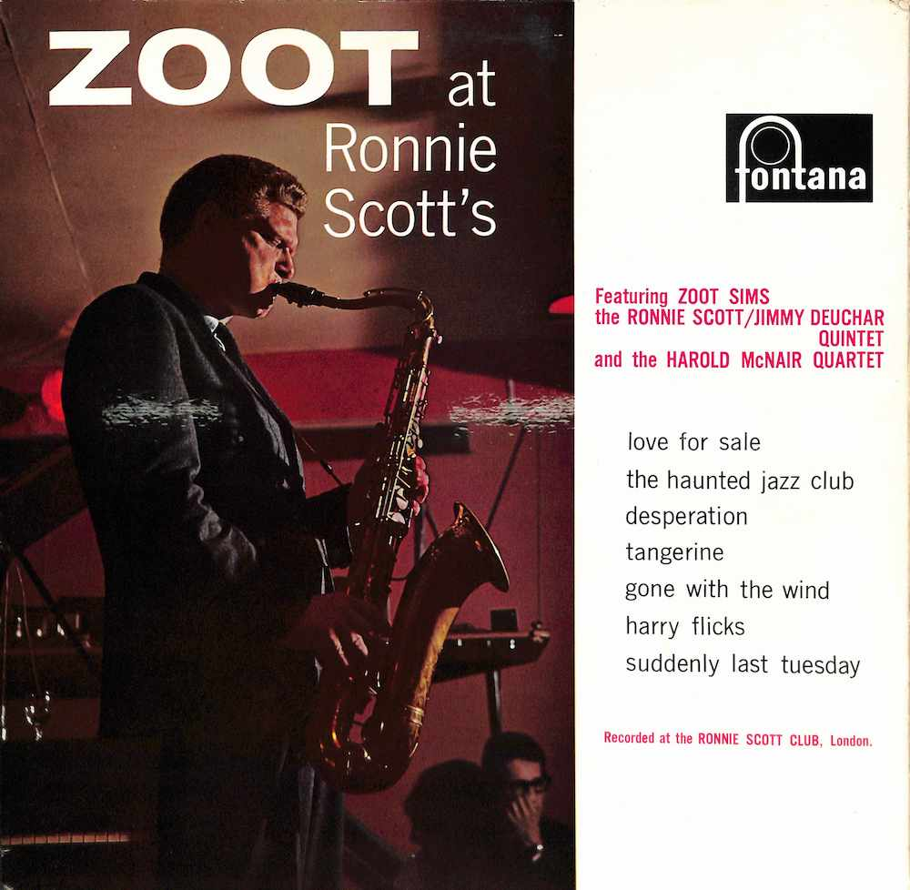 ZOOT SIMS - Zoot At Ronnie Scott's - 33T