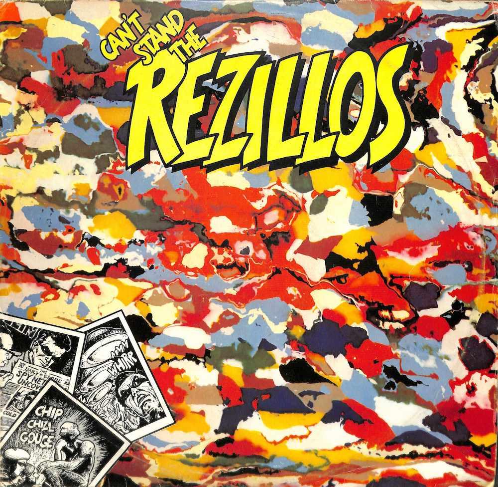 REZILLOS - Can't Stand The Rezilos - 33T