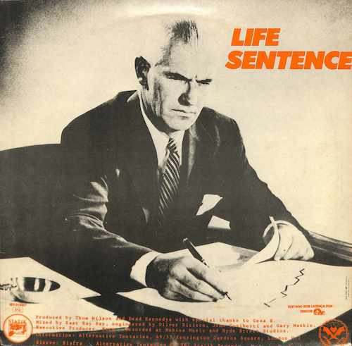 DEAD KENNEDYS Bleed For Me / Life Sentence