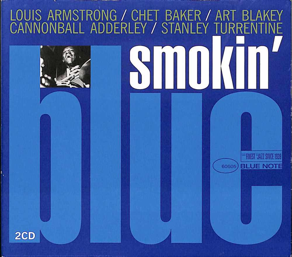 V.A. - Smokin' Blue - CD